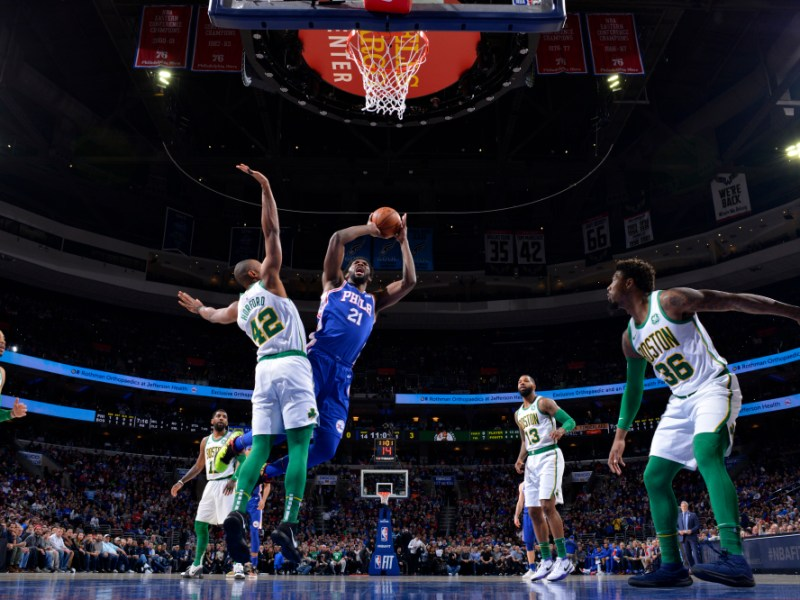 76ers Finally Beat The Celtics!!!