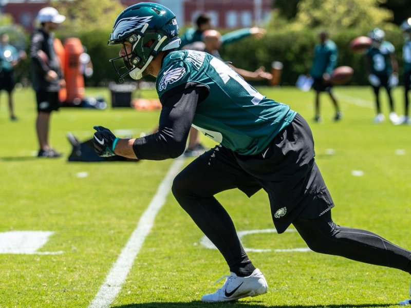 One-On-One With Eagles Wide Receiver J.J. Arcega-Whiteside