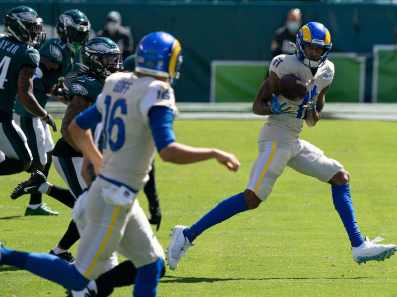 Eagles Fumble Away Week 2; lose to Rams