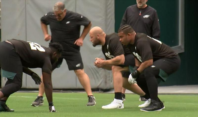 The Eagles Offensive Line Is A Reason To Get Excited