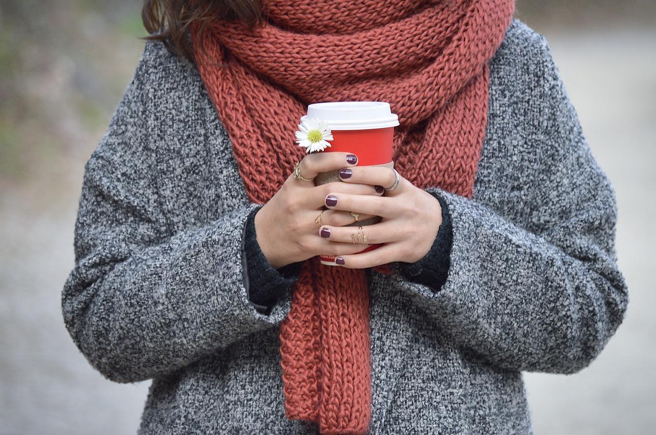 外で飲むコーヒーも