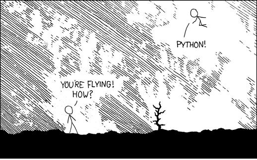 xkcd: Python