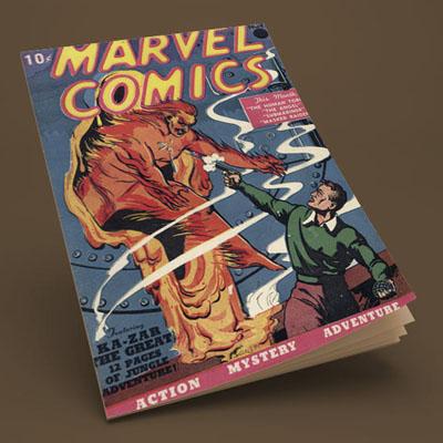 marvel comics magazine