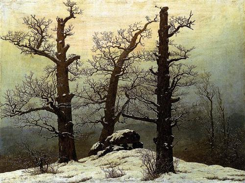 pintura de Caspar David Friedrich
