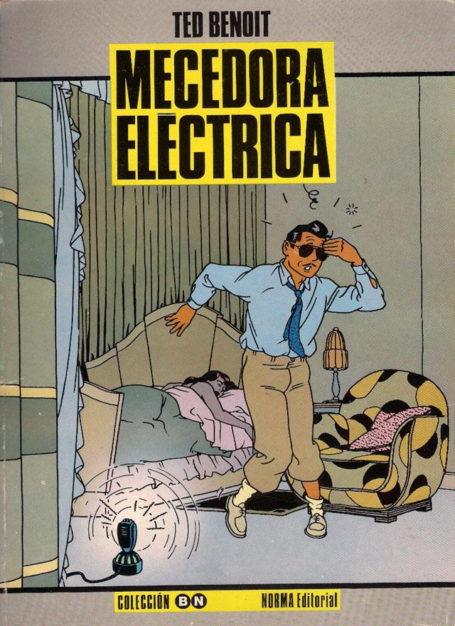 Tapa de Berceuse électrique, por Ted Benoit