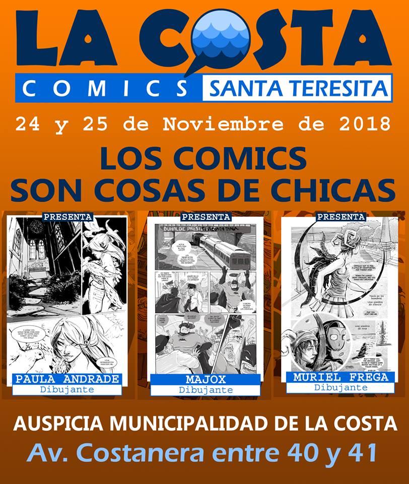 la costa comics 2018