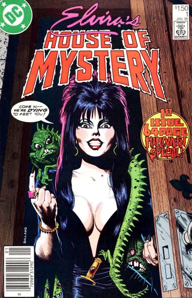 Elvira House of Mistery, 1986, DC Comics