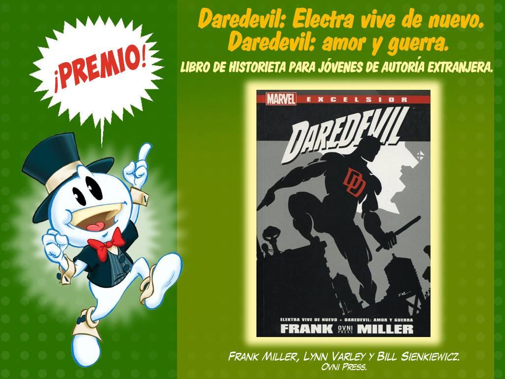 Libro de historieta de ficción para jóvenes de autoría extranjera - daredevil - ovnipress