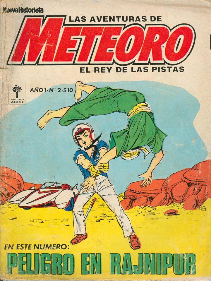 Revista Meteoro, publicada entre los años 1975 y 1978