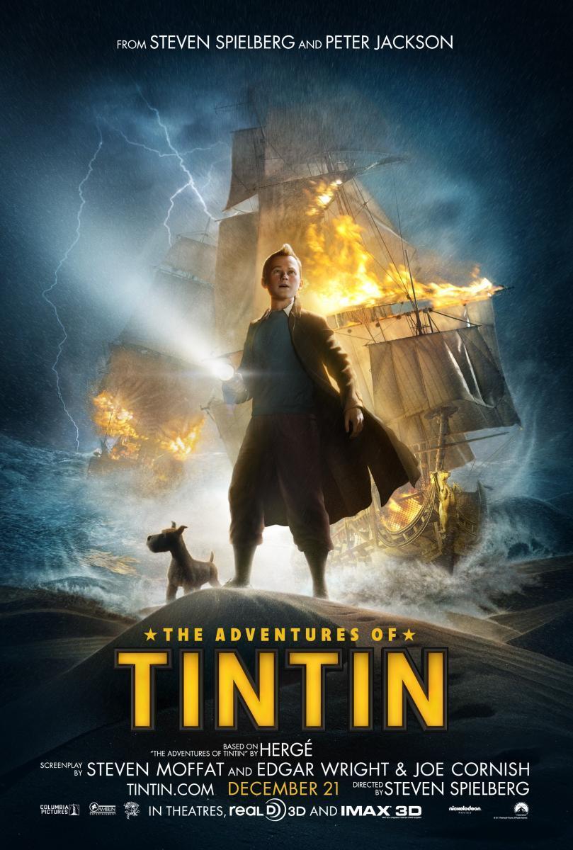 las aventuras de tintin - spielberg - 2011