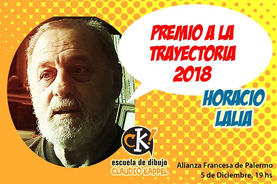 premio trayectoria 2018 horacio lalia escuela kappel