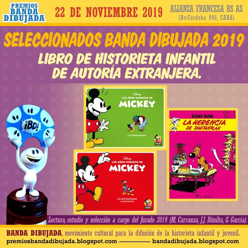 premios bd 2019 - extranjero infantil