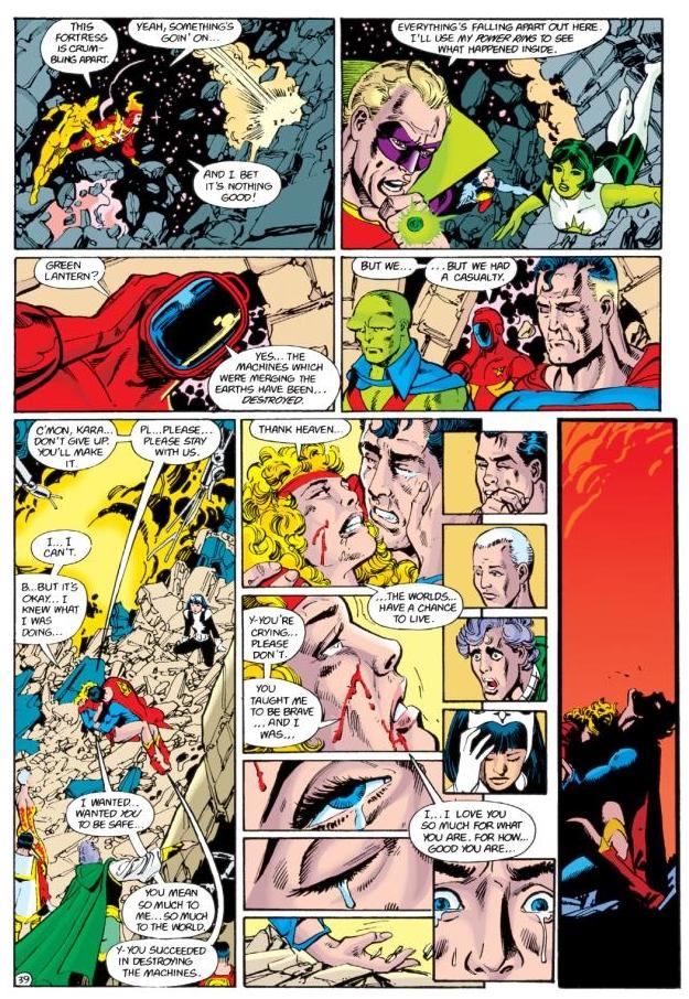 crisis-en-tierras-infinitas-supergirl-muerte