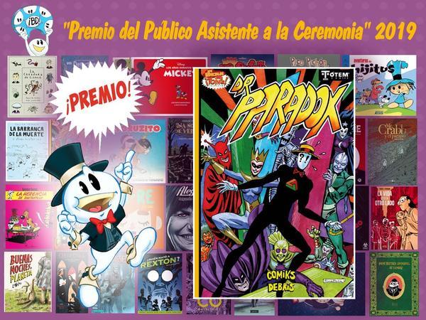 premios bd 2019 - dr paradox-gcomics