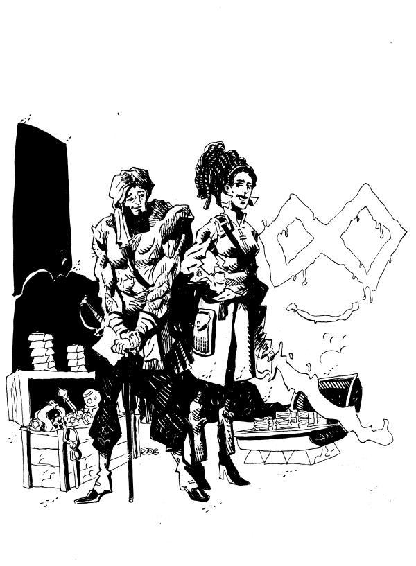 Illicitus Cosmos 28 - Hermanos Ducado and Fey - ellos vendrán - arandojo jok
