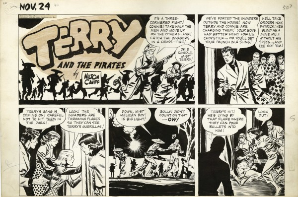 fundadores-del-comic-milton-caniff-terry-y-los-piratas