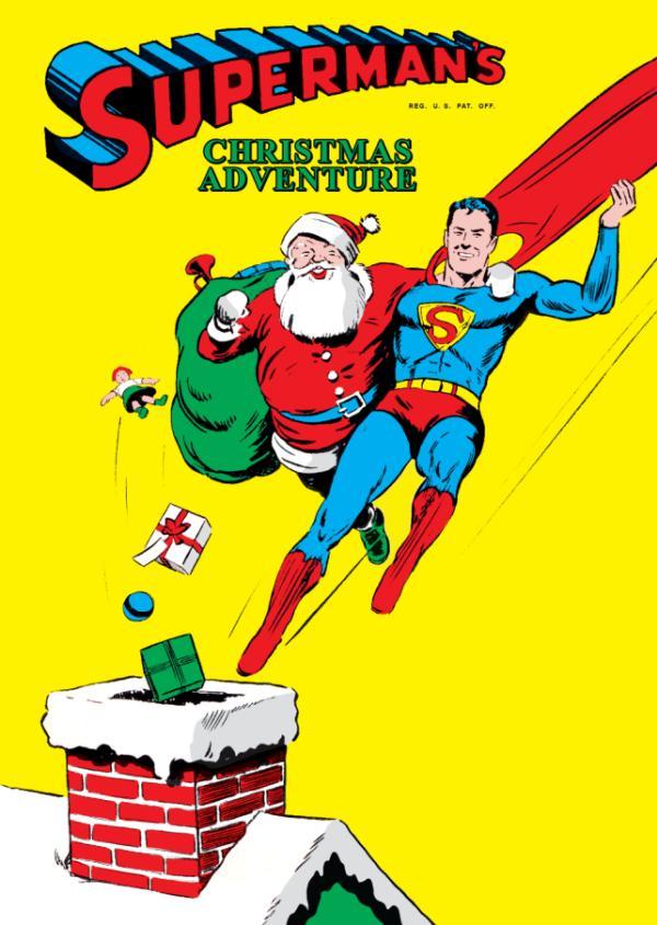 navidad-en-la-historieta-superman
