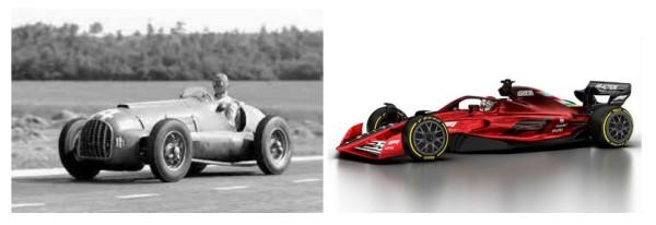 leccion14-comicnodibujantes-carrera-formula1-autos-ayer-y-hoy