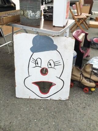 clown bean bag