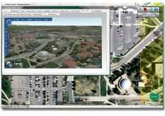 Microsoft Bing 3D GIS Map