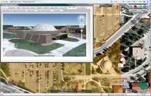 3D Google StreetView