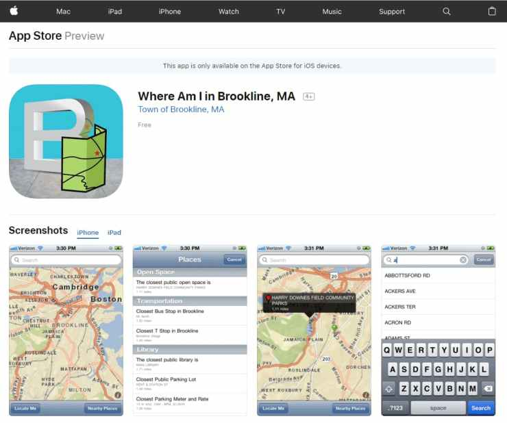 Mobile GIS app with ArcGIS iOS