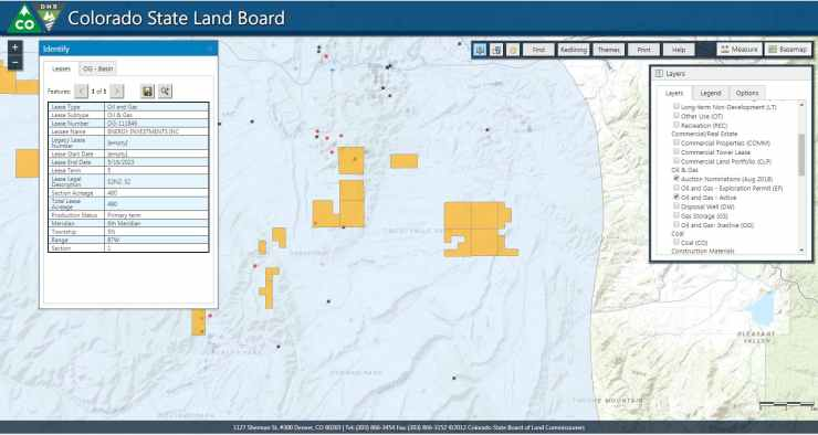 The State Land Board GIS