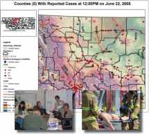 Pandemic Incident Report Map