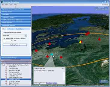 3D Pandemic Buffer Analysis