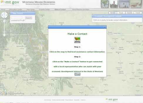 Make a Business Contact GIS Web App
