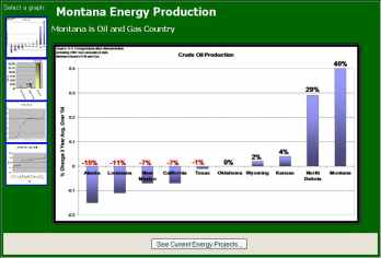 Statistics and reports for energy projects.