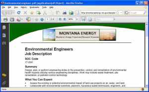 Montana Means Energy job announcements