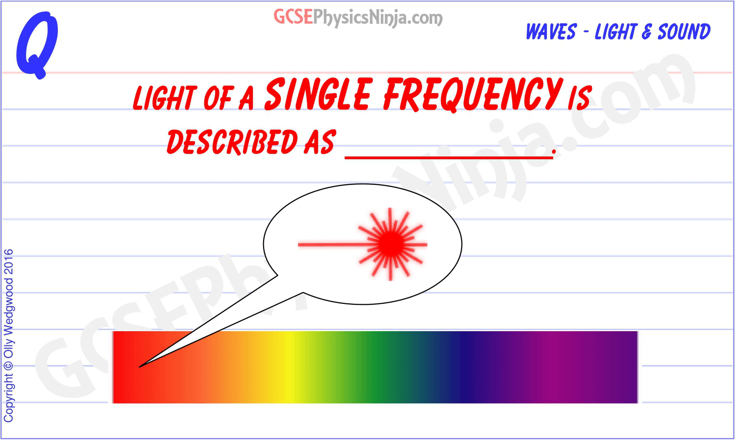 6 Light Of A Single Frequency