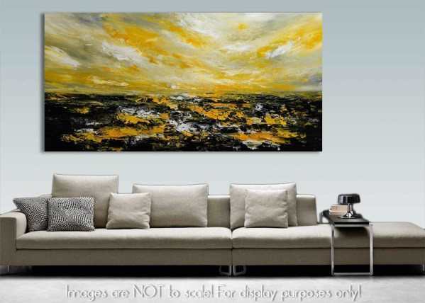 Silent Morning 52 - Abstract Seascape Painting