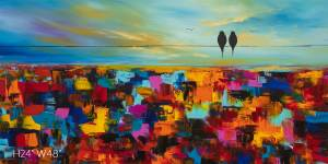 BIRDS ON A WIRE 26