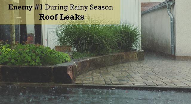 Enemy #1 During Rainy Season – Roof Leaks