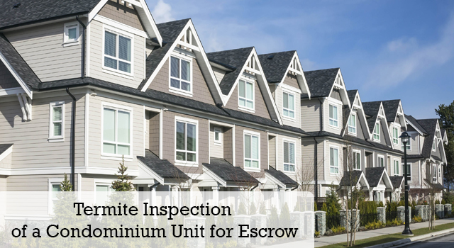 Condominium Escrow Inspection