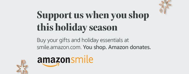 GCVF on AmazonSmile; AmazonSmile; Support Veterans While You Shop Online This Holiday Season