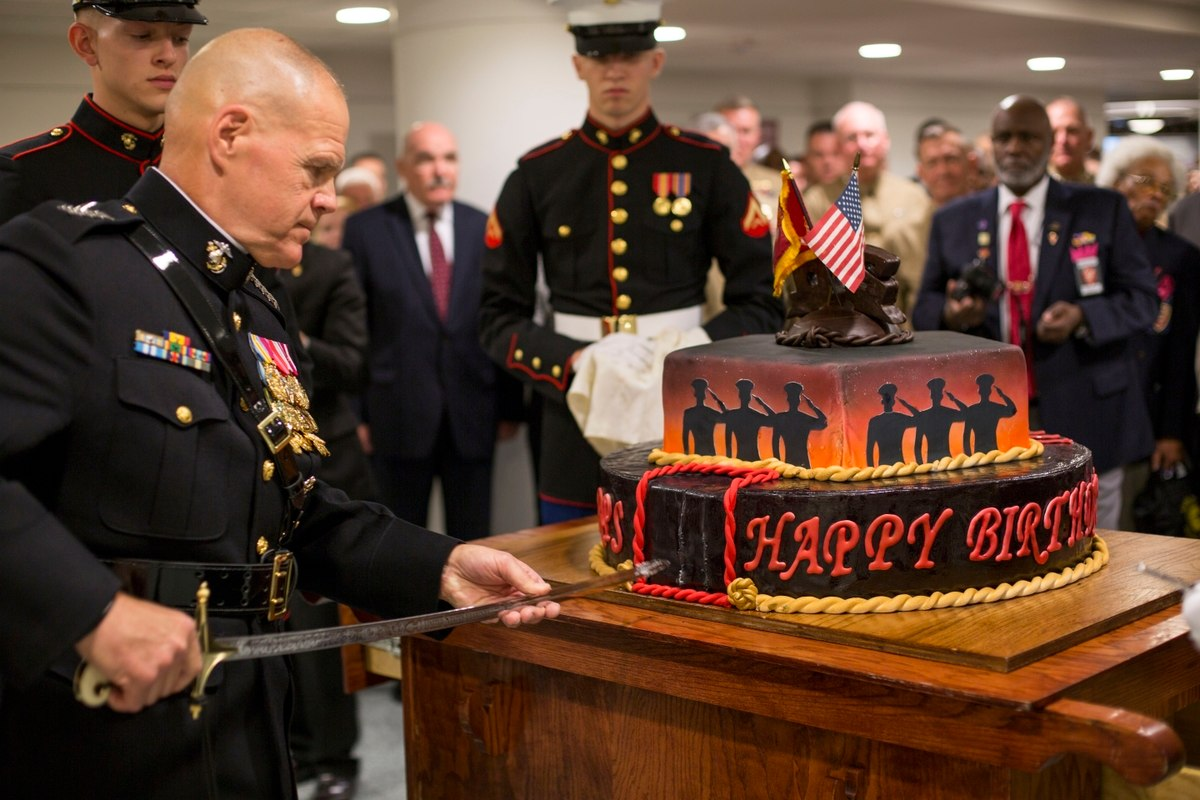 To Corps Country And Each Other Top Marine S Birthday Message May Leave You Hiding Tears Gold Coast Veterans Foundation