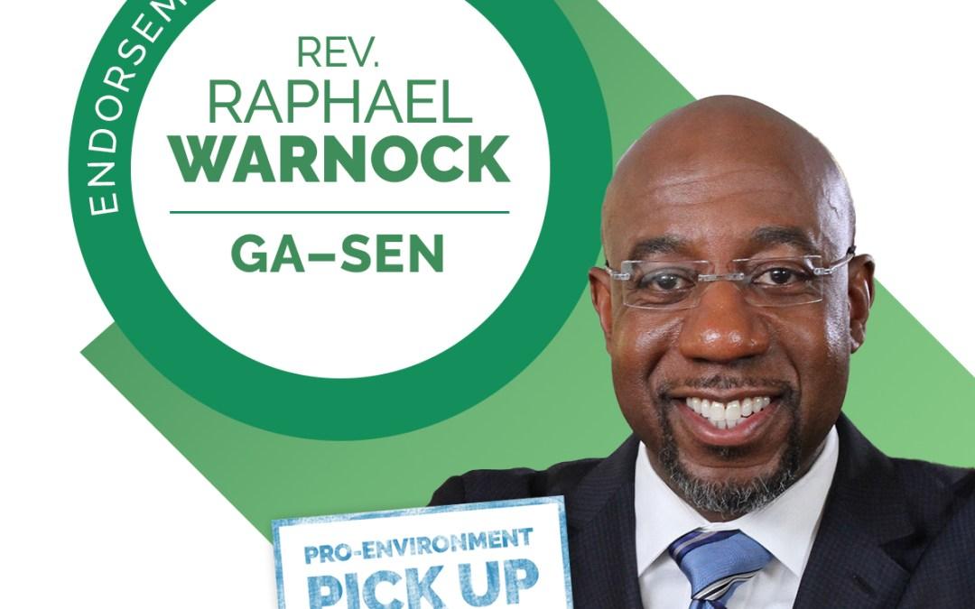 LCV Congratulates Rev. Raphael Warnock on Historic Senate Victory