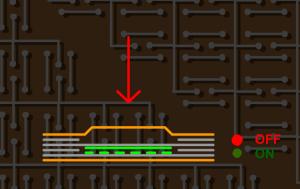 2.1 Düz Kabartmalı Membrane Switch