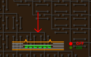 2.3 Kabarmalı Kontürlü Membrane Switch