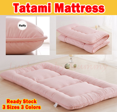 Tatami Blanket Mattress Cover Topper Protector Bed Sheet Ergonomic