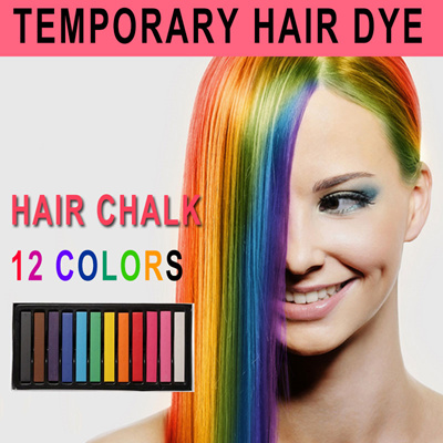 qoo10 temporary hair dye hair chalk set hair chalk pens hair color dye hair care