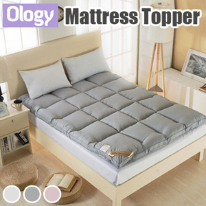 Mattress Topper Cover 5cm Thick Protector Anti Bacterial Mite Foam Quilt Tatami Blanket Bed Sheet Mat Pad Bedding Set King Queen Single Size Available