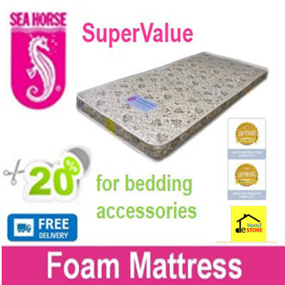 Qoo10 Premium Sea Horse Supervalue Foam Mattress Free Delivery Fo Furniture Deco