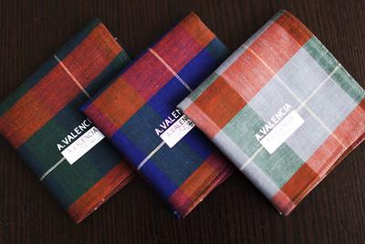 日本制 男士大手帕手絹 簡潔純棉 男士用 薄款 商務手帕 大格子-淘寶網