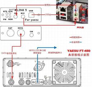 USB PC linker Adapter for YAESU FT817818FT857  897