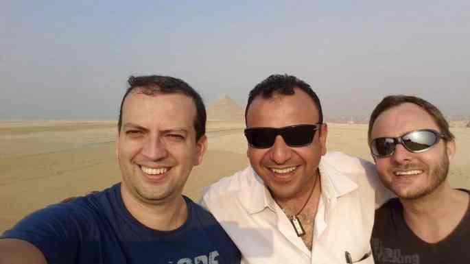 Usama Saber: dica de guia de turismo no Egito