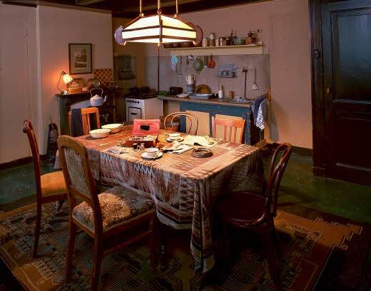 Museu Anne Frank - Cozinha